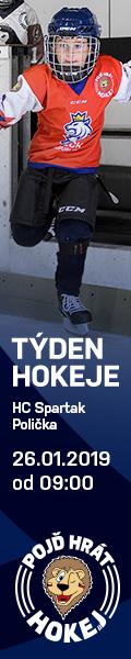 Týden hokeje - leden 2019