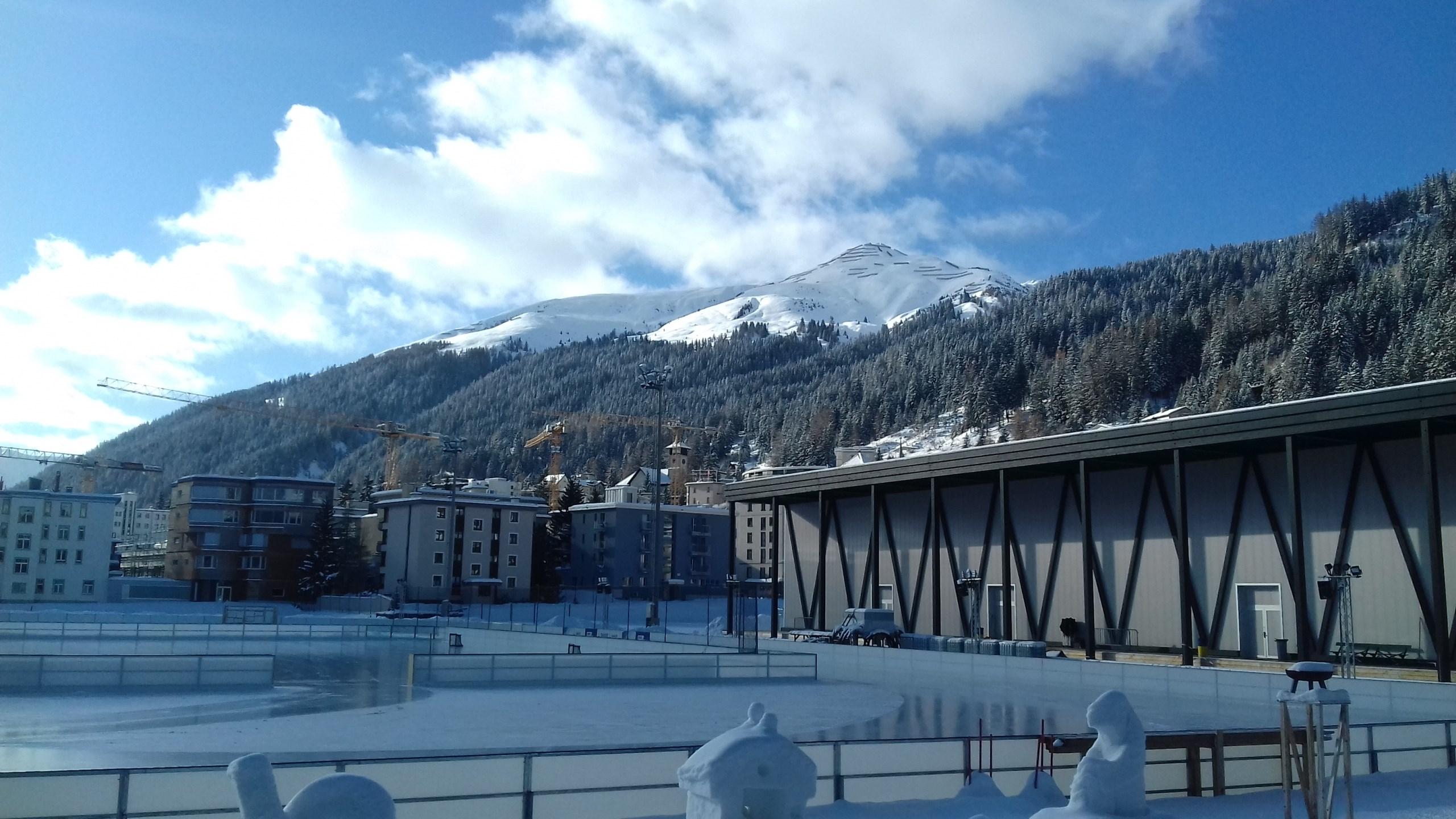 Trenérská stáž Švýcarsko: prohlídka zázemí tréninkové haly HC Davos